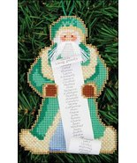 Checking It Twice Santa Olde Time Santa Ornament kit christmas perforate... - $5.40