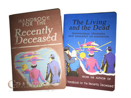 Fan-made Handbook for the Recently Deceased Living and the Dead inspired... - $15.91
