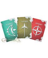 Fan-made Fire Emblem Spell Tomes Robin Thoron Arcfire Elwind inspired pe... - $26.51