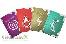 Fan-made Fire Emblem Spell Tomes Fire Thunder Nosferatu Wind Robin inspi... - $37.12