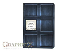 Doctor Who TARDIS River Song inspired personalized journal notebook - $10.60