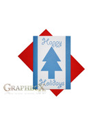 Fan-made Gravity Falls inspired Christmas Holidays card - $3.53