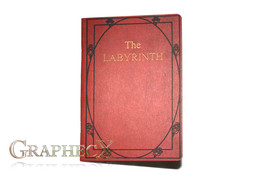 Fan-made The Labyrinth Red Book inspired personalized journal notebook - $10.60