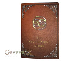 Fan-made Never ending Storybook inspired personalized journal notebook - $10.60