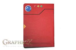 Fan-made Pokemon Pokedex inspired personalized journal notebook - $10.60