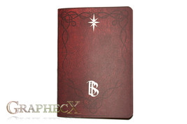 Fan-made Bilbo's book inspired personalized journal notebook - $10.60