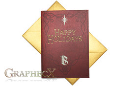 Fan-made Hobbit Lord of the Rings inspired Christmas Holidays card - $3.53