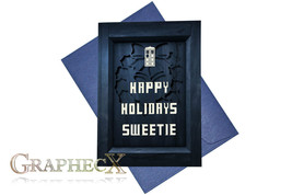 Fan-made Doctor Who inspired Christmas Holidays card - $3.53