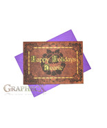 Fan-made Once Upon A Time inspired Christmas Holidays card - $3.53