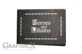 Once Upon a Time Heroes and Villains inspired personalized journal notebook - $10.60