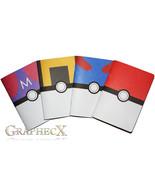 Fan-made Pokemon Pokeball Greatball Ultraball Masterball inspired person... - $37.12