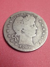 1909 Barber or Liberty Head Quarter - $18.00