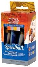 Blenders (Countertop) Speedball Metallic Block Printing Ink Set 11203473... - $23.55