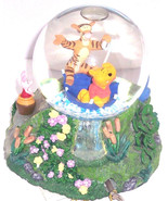 Disney Store Snowglobe Winnie Pooh Tigger  Eeyo... - $129.95