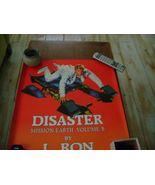 Mission Earth Vol 8 Rare Poster 1986 Memorabilia L. Ron Hubbard Scientology - $18.96