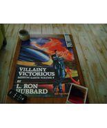 Mission Earth Vol 9 Rare Poster 1986 Memorabilia L. Ron Hubbard Scientology - $18.98