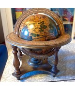 Vintage Italy Spinning Display Wooden Zodiac Wo... - $49.99