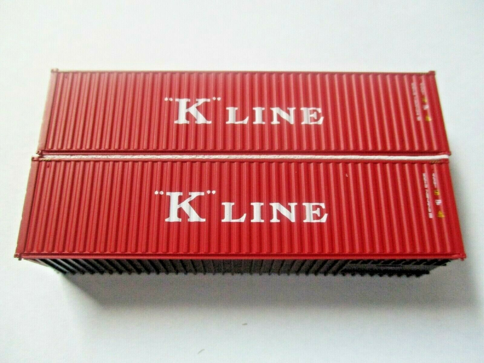 Jacksonville Terminal Company # 405099 K-Line Red Set # 4 40'  Container (N)