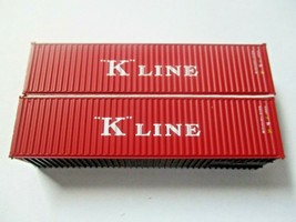 Jacksonville Terminal Company # 405099 K-Line Red Set # 4 40'  Container (N) image 1