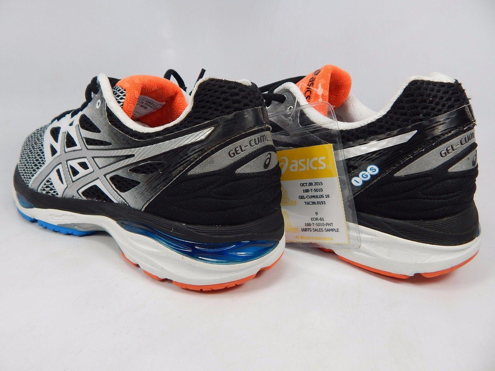 Asics Gel Cumulus 18 Men's Running Shoes Sample Size US 9 M (D) EU 42.5 White