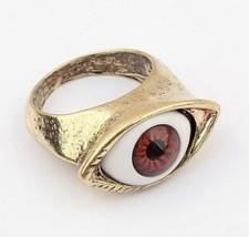 Vintage Unique Eye Cocktail Ring(Color:Blue eye /Red eye ) - $5.80