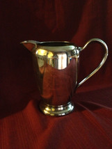 FB Rogers silverplate pitcher 1107 crown trademark with ice lip vintage - $8.99