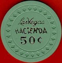 50 cent Casino Chip. Hacienda, Las Vegas, NV. 1950s. Spelling Error. HV15. - $45.50