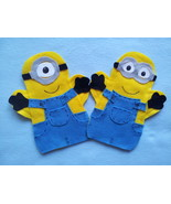 Inspired by Minion Hand Puppets - $9.99