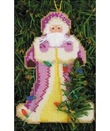 Deck The Halls Santa Olde Time Santa Ornament kit christmas perforated p... - $5.40