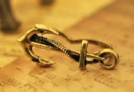 Vintage Anchor Double Finger Ring - $5.79