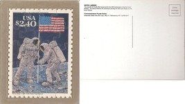USPS POSTCARD - Commemorative Puzzle series - MOON LANDING - FREE SHIPPING image 3