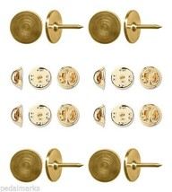 100 Gold Steel TIE TACKS Lapel Scatter Pin Find... - $38.60