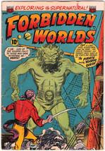 Forbidden Worlds Comic Book #19, ACG 1953 VERY GOOD+ - $58.94