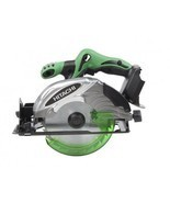 "NEW HITACHI 6-1/2"" 18V 18 VOLT LIT-ION CORDLESS CIRCULAR SAW C18DSLP4(TO... - $113.05 CAD"