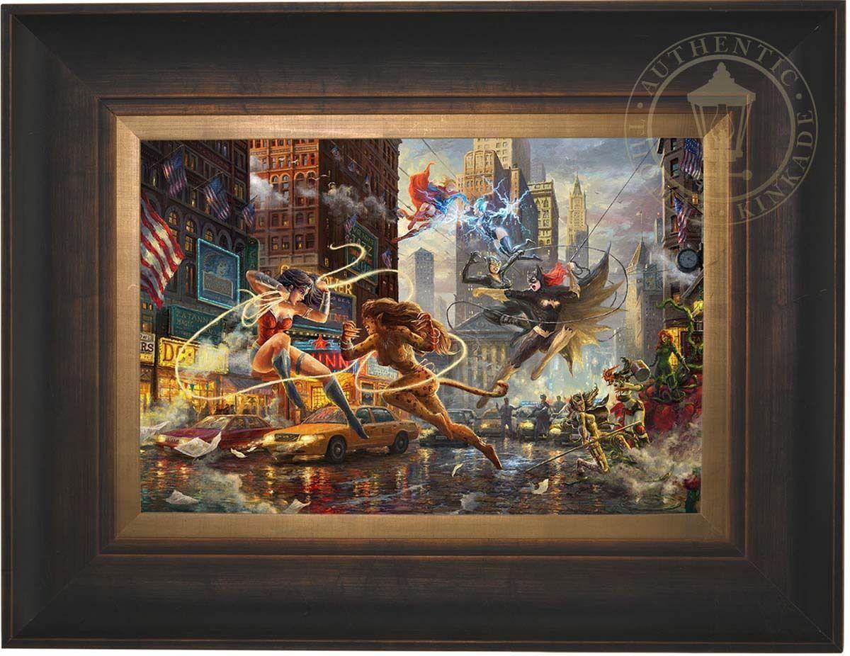 Thomas Kinkade Women of DC 12 x 18 Limited Edition E/E Canvas (Framed) DC Art