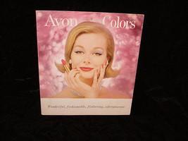 Avon Colors Promo Foldout Makeup Cosmetic Colors 1960s - $24.99