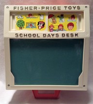 Vintage 1972 Fisher Price School Days Desk EUC FREE SHIPPING - $19.99