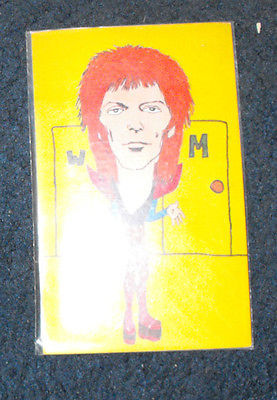 David Bowie 1978 Rockards colorful art