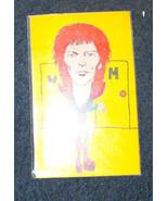 David Bowie 1978 Rockards colorful art - $16.99