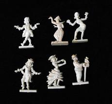 People Of The World Hard Plastic Figures Vintage Crackerjack - $20.00