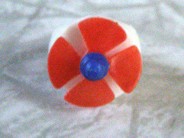 Propeller Plastic Children's Ring Vintage VG+, some slight wear. - $16.98