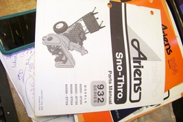 ariens 932 seris sno-thro parts manual 03237400 orig 8/98 - $13.85