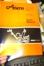 ariens 924 seris sno-thro parts manual pm-24-89 - $13.85