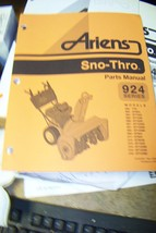 ariens 924 seris sno-thros parts manual 024046g 9/96 - $13.85