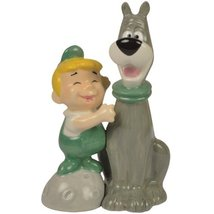 Westland Giftware The Jetsons Magnetic Elroy and Astro Salt and Pepper S... - $16.95