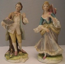 Lefton Mildred and George Collectible Figurines - $51.43