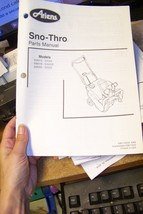 ariens sno-thros parts manual 03811500a 6/99 - $13.85
