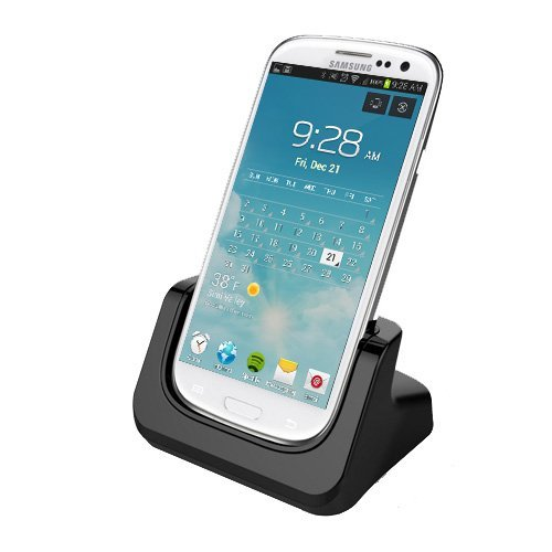 RND Dock for Samsung Galaxy S4 with Audio out and Dock mode (compatible witho...