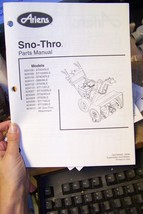 ariens sno-thros parts manual 03238500b 08/99 - $13.85