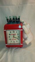 Coca Cola Polar Bear Alarm Clock and bank - $25.00